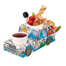 Jungle Safari Jeep Meal Tray - food tray, kids party - pack of 8