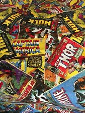 Marvel Comic Handcrafted window valance Free shipping