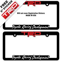 """2 NISMO OFF ROAD Die Cut Decal Stickers MATTE BLACK and RED 12/"""" 4X4 truckbed"""
