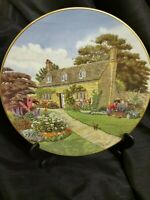 Royal Doulton Plate Cottages Through Britain Cotswold Cottage PN17 1983.Tim Rose