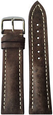 22x20 RIOS1931 for Panatime Distressed Brn Watch Strap w/Buckle for Breitling