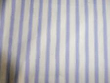 100% COTTON STRIPED TICKING FABRIC 8MM WOVEN IN UK