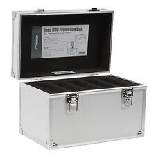 "Hard Disk Drive HDD Protection Storage Case Box Aluminum 3.5"" 5 bay I-NC09"