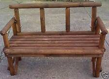 Handmade Wooden Up to 2 Seats Garden & Patio Benches