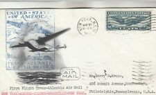 First Flight Trans-Atlantic Airmail Cover