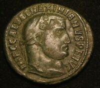 MAXIMIANUS IMPERIAL ROMAN FOLLIS COIN  - XF CONDITION