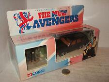 Corgi 57604 New Avengers J steeds Range Rover & Steed Figure in 1:36 Scale.