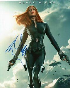 Scarlett Johansson Autographed Signed 8x10 Photo ( Black Widow ) REPRINT