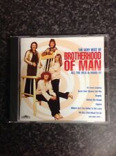 Brotherhood Of Man 'The Very Best Of - All The Hits And More' CD Like New 1996