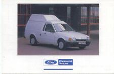 Ford Escort High Roof Van Original colour Postcard Pub. No. FB 1526