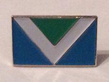 Vegan Metal Pin Badge Vegan Awareness Flag Symbol Animal Rights Charity Donation