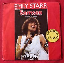 Samson, emly starr (2 versions),  SP - 45 tours