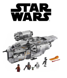 Star Wars Mandalorian Razor Crest Blocks Toy Building bricks