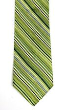 1103a1d34f3b Ted Baker London Silk Green White Black Purple Striped Woven Necktie