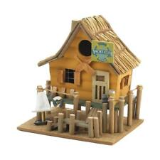 Home Nautical Garden Decor Yacht Club Bird House Birdhouse Wood