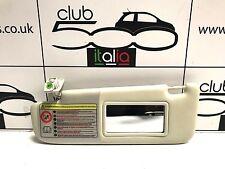 Fiat 500 Ivory Passenger Side Sunvisor - Fits all Fiat 500