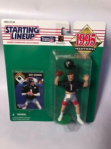 1995 Kenner Starting Lineup JEFF GEORGE Atlanta Falcons Action Figure Toy