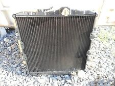 New Vintage 1985 1986 1987 1988 Mitsubishi Mirage Brass & Copper Radiator