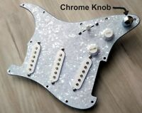 2020 FENDER SQUIER STRAT SSS 11-HOLE LOADED PICKGUARD Stratocaster w Crazy MODS