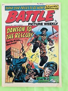 Battle Picture Weekly. British Comic Book. 9th August 1975. Very Good Condition.
