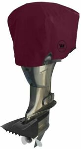 Windstorm Outboard Motor Covers Heavy Duty 600D Polyester *measure your motor*