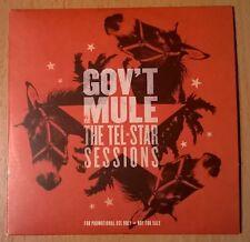 GOV'T MULE The Tel-Star Sessions (rare CD promo copy cardboard sleeve)
