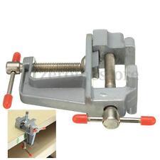 Aluminio Tornillo De Banco Sargento Pequeño Trabajo Metal Apertura  35mm