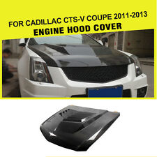 Carbon Fiber Front Engine Hood Cover Factory Fit for Cadillac CTS-V Coupe 11-13