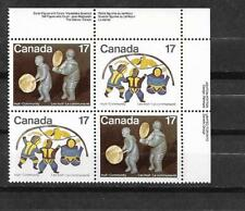 pk37490:Stamps-Canada #837i Inuit 17 cent Red Stitch Variety on UR PB - MNH