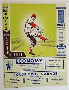 1956. San Jose Josox CALIFORNIA LEAGUE Program.James Lee.Cliff Allmon