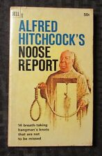 1966 Alfred Hitchcock's NOOSE REPORT 1st Dell G455 Paperback VG-
