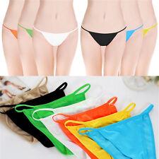 New Women Underwear Sexy Panties Thong V-String Seamless Bikinis Brief Knickers