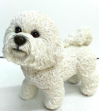 More details for bichon frise dog ornament figurine brand new boxed
