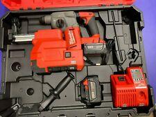 Milwaukee Rotary Hammer Kit with Dust Extractor Model 2712-22DE w/5.0Ah Bats