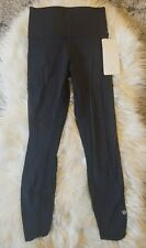 NWT Lululemon HIGH TIMES PANT SE Special Edition 7/8 Length BLACK Sz 4