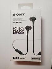 Sony WI-XB400 In Ear Headphones - Black