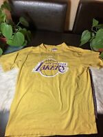 NBA/Majestic Los Angeles Lakers KOBE BRYANT #24 Tee Shirt, Size 18/20