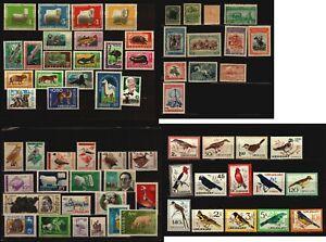 Uruguay Fauna stamp collection lot bird wild cattle horse1890/1990 MNH cv +$100