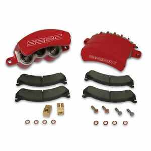 2003-07 Dodge Ram 2500/3500 SSBC Quick Change 3 Piston Front Caliper Kit (red)