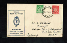FDC-1240**Australia FDC 1937 royalty Stamps First Day Cover