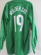 Manchester United Van Der Sar 2004-2005 Portero De Fútbol Camisa Grande / 38036