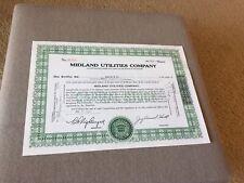 Midland Utilities Company.  New 1953.