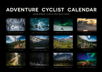 ADVENTURE CYCLIST CALENDAR 2021 by Jakub Rybicki DIN A3 Wandkalender Fahrradtour