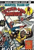 Marvel Team-Up Comic Issue 25 Spider-Man And Daredevil Bronze Age 1974 Len Wein