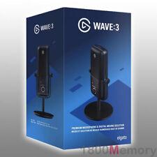 GENUINE Elgato Wave:3 Premium USB Condenser Microphone Mic Wave Lewitt Audio