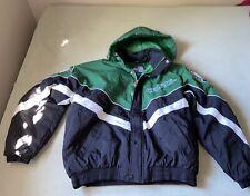 Vintage NBA Mens Starter Boston Celtics Pullover Zip Jacket/Parka Size L Black