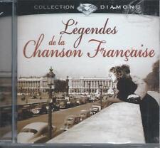 CD Légendes de la Chanson Française Collection Diamond NEUFsous cellophane