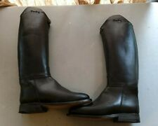 Ladies Derby of Holland Custom Dressage Boots 6.5 with zipper