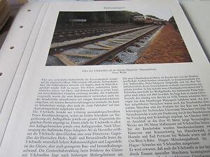 Deutsches Eisenbahn Archiv 7 Bahnanlagen 2105 Y-Schwellen