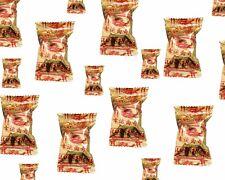 1x100 Glückskekse Fortune Cookies in Goldfolie einzeln Glückskeks China GOLD